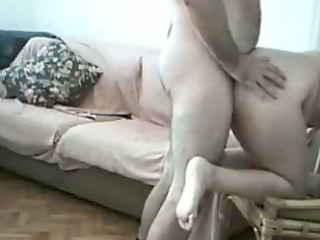 lustful fat amateurs fucking at home