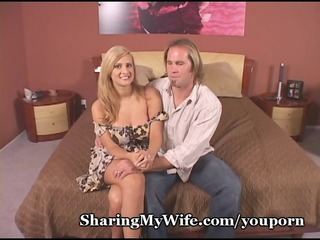 cuckold hubby watches hotwife receive screwed