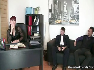 office wench pleases dicks