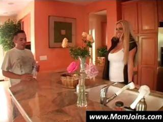 Milf and teen are putting on a show and teasing