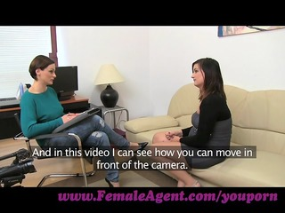 femaleagent. ultimate casting agonorgasmos for