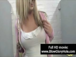 GloryHole - Sexy Busty Babes Love Sucking Cock 25