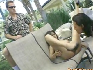 husband looks how breasty wife is screwed