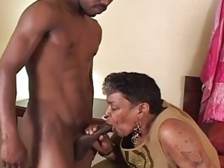 darksome granny likes the young penis