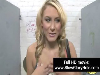 GloryHole - Sexy Busty Babes Love Sucking Cock 15