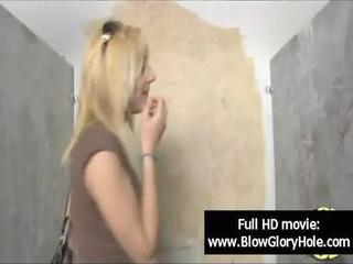 GloryHole - Sexy Busty Babes Love Sucking Cock 09
