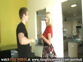 sexy blonde mother i emma starr copulates a young