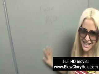 gloryhole - hot breasty hotties love sucking rod