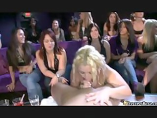 blonde d like to fuck sucks off stripper in front