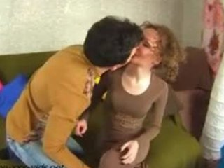 sexy mature mother tempt a youthful chap and