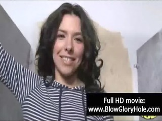 gloryhole - hot breasty women love sucking dong 02
