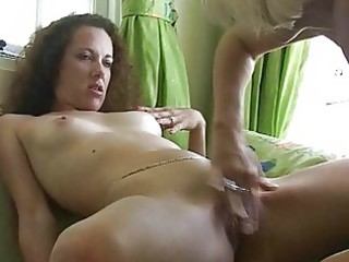 hairy brunette hair receives her bawdy cleft