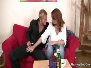 beautiful red-haired d like to fuck with large