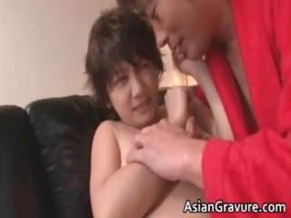 naughty oriental milf receives jizzed after part11