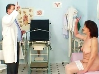naughty grand-dad doctor for granny lindas old