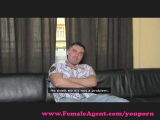 femaleagent. gutsy casting receives dominated