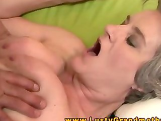 hairy granny pussylicked and screwed hard