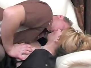 Sexy Russian Mature Lady Boss And Employee