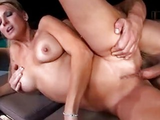 busty golden-haired pornstar d like to fuck sucks