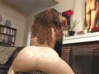 horny dark milf receives white dick in her ass