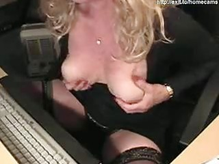 59 years perverted mama silvia plays for webcam