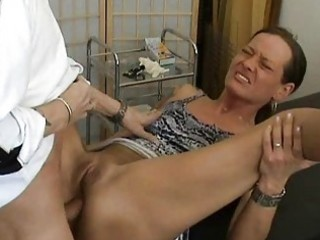 aged dilettante wife anal fuck with creampie