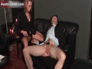 smutty aged floozy goes avid flogging part5