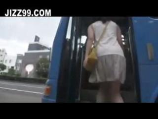 lascivious milf in geek bus 63