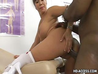 large tits oriental enjoying some interracial act