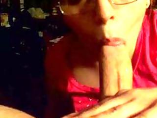 The wife sucking dick