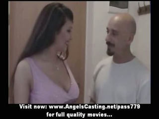 outstanding hot dark brown bride sweet talking