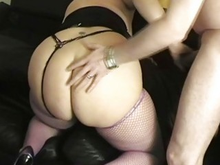 sexy golden-haired uk milf bonks with well hung