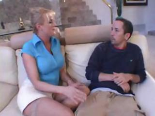 Slutty blonde milf goes crazy in rome and eats up