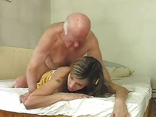 hawt golden-haired bunny shags with old mature