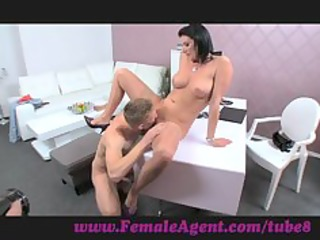 femaleagent. double jizz flow surprise for d like