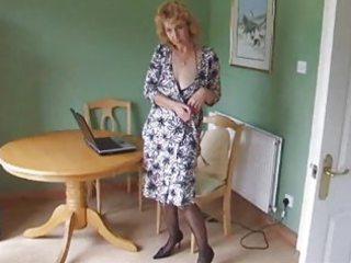 older body stocking hose disrobe
