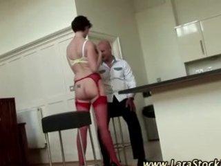 nylons non-professional older slut in heels
