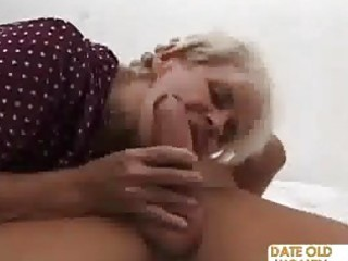 grandma acquires unfathomable fucked by a younger