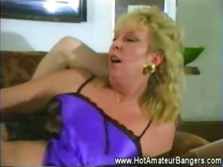 older amateur wife drilled balls deep