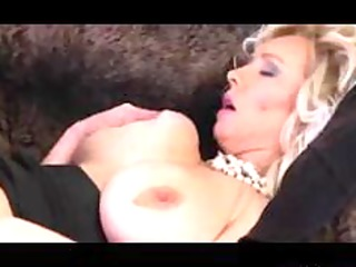 big tit golden-haired mommy