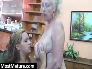 golden-haired d like to fuck granny acquires it