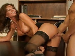 breasty mature fuck whore in nylons