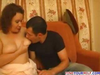 juvenile man fuck his big beautiful woman mother