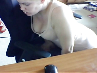 hidden webcam wife humping chair and self tape