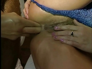 mum loves cock, fist in ass &; fur pie spunked
