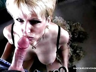hawt mature golden-haired racquel works on dick