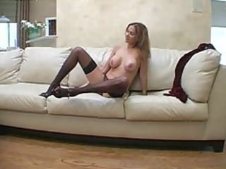 Hot Wife Rio Velvet Dress cumshot