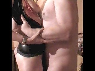mrs b latex 7 fuck titslap and tugjob