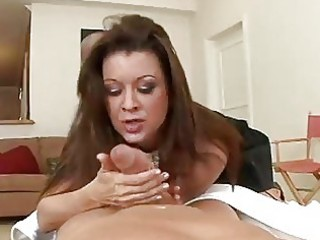 older housewife acquires filled