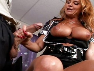Busty milf riding a dick